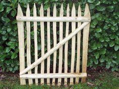 Portillon en bois type ganivelle