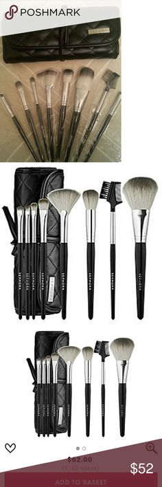 Sephora collection tools of the trade brush set Sephora collection tools of the trade brush set  - Brand new and authentic - Comes in full retail packaging Sephora Makeup Brushes & Tools