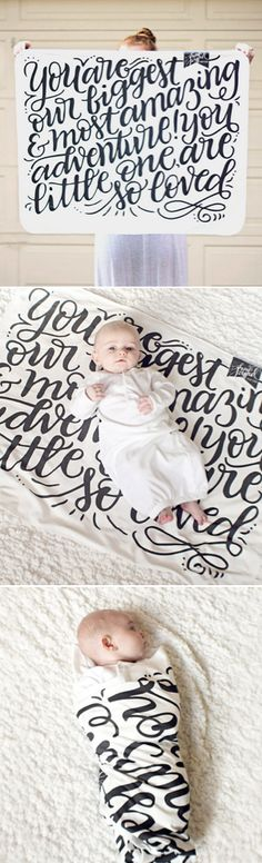 You are our biggest and most amazing adventure! You little one, are so loved! http://scoutmob.com/p/You-Are-Our-Greatest-Adventure-Baby-Swaddle-howjoyful?cid=cam201505&pid=E522&referrer=smshpblg&signup=0&short_code=Wskq&affl=Wskq