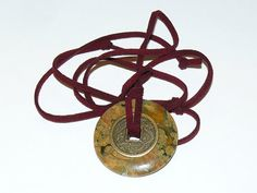 Robert Downey Jr Inspired Necklace Rhyolite