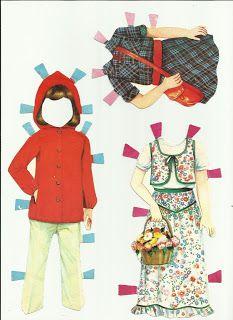 Bonecas de Papel: Boneca Joana