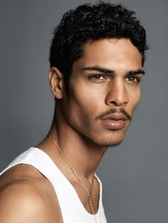 Geron McKinley is a Mexican/African-American model