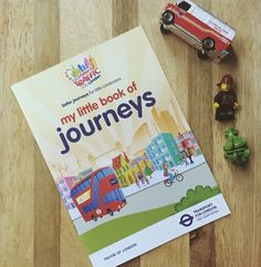 A weekly look through the  Children's Traffic Club London membership pack. This week - My Little Book of Journeys for 3 and 4 year olds.