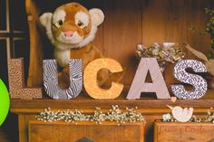 Safari Birthday Party Ideas | Photo 5 of 10 | Catch My Party