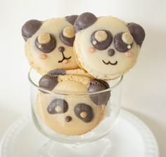 A dozen of the cutest macarons you've ever laid your eyes on.