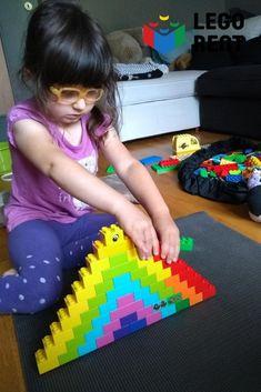 Stavanie dúhy pre najmenších, dúhové úlohy pre väčších a Lego veterná elektráreň pre Lego geeks 3 D, Lego, Activities, Legos