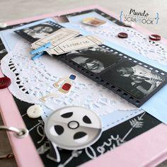 Album Scrapbook, Cinema, Books, Scrapbook, Ideas, Log Projects, Historia, Movies, Libros