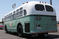 One thing we haven't run across much of is collectors who like to have an old bus or two in their collection. We guess, like fire trucks, while the appreciation Vintage Trucks, Vintage Auto, Retro Bus, Busses, Chickens Backyard, Old City, Fire Trucks, Taxi, Motorhome