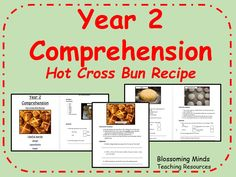 Year 2 SATs style comprehension - hot cross bun instructions