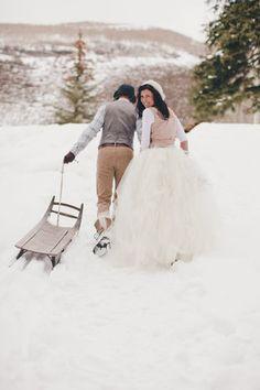 Des photos de mariage littéralement vertigineuses (PHOTOS)