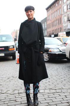 #streetstyle #NY: Aino Jawo from #Icona Pop
