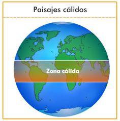Las diferentes zonas climáticas y sus paisajes
