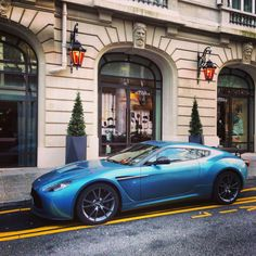Aston V12 Zagato on the road by Kevin Van Campenhout