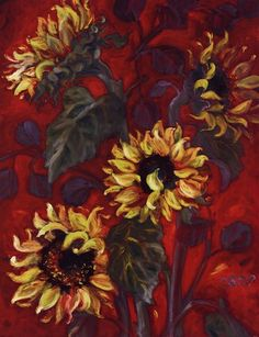 Sunflowers I by Shari White
