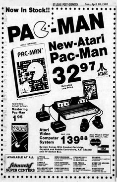 Keep Fronting - advertisingpics: Atari 2600 Video Computer. Atari Video Games, Video Game Music, Old Advertisements, Retro Advertising, Retro Videos, Retro Video Games, St Louis Mo, Old Video, Tv Ads