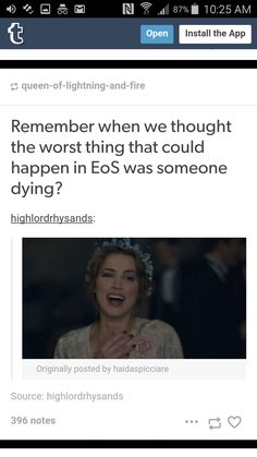 We were so naive.<<< The only one thing that's worse than dying is living