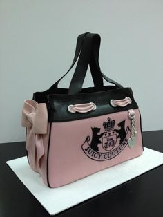Learn How To Make Purse Cake in Designer Handbag Cakes, on Craftsy! Juicy Couture Cake