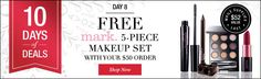 Day 8! FREE 5 piece mark. gift set with any $50 purchase! FREE shipping Included. Go ahead Make It Beautiful with Avon! Expires midnight 12/13. http:// meabel.avonrepresentative.com