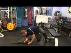 Bunkie with Knee Bent and Hip Internal Rotation - YouTube