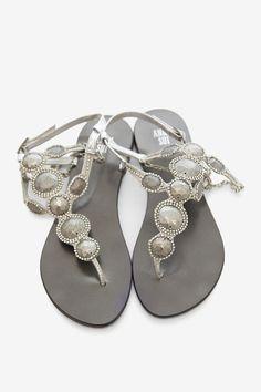 Anna Sui Silver Sandal