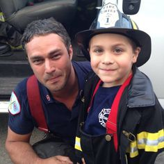 So cute! #ChicagoFire