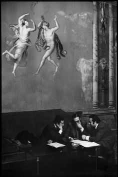 ITALY. Sicily. Palermo. Town Hall. 1971. Henri Cartier-Bresson