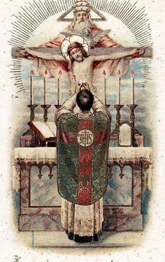 Offering Mass