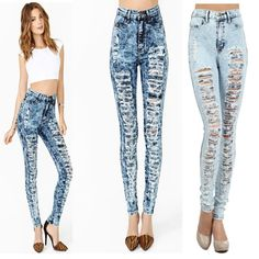 Womens pants and womens leggings wearing trends 2019 - Womens pants which have entered into fashion about a century ago, firmly occupied the leading place in women's wardrobe. Various models of pants for. Casual Wear Women, Suits For Women, Clothes For Women, Layering Outfits, Formal Dresses For Women, Sweater And Shorts, Distressed Skinny Jeans, Tight Leggings, High Waist Jeans