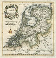 Old world Dutch map....I have plans for this soon.