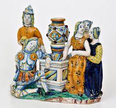 Rinascimento calamaio 3872 - Museo Internacional de Cerámica de Faenza - Wikipedia, la enciclopedia libre