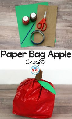 Paper Bag Apple Craf