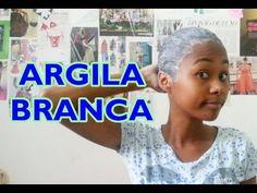 Argila Branca nos cabelos - YouTube