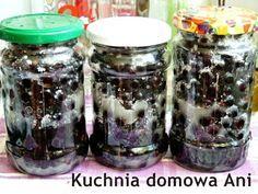 Kuchnia domowa Ani: Czarna porzeczka w cukrze na przeziębienie Mason Jars, Kitchens, Food Ideas, Mason Jar, Glass Jars, Jars