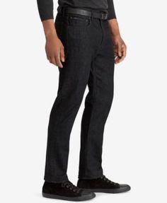 Polo Ralph Lauren Men's Prospect Straight Jeans - Black Stretch 42x30