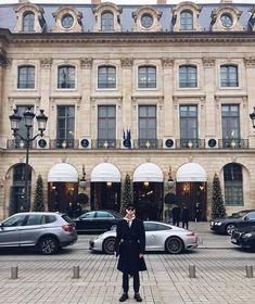 #vscocam #vsco #paris #ritz #placevendome #menstyle #menfashion #menswear #car Rudy Outreville