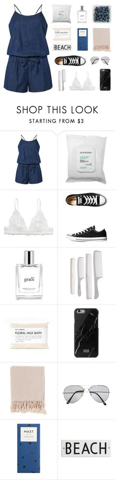 oh my love, don't you worry by fairly-local-on-the-radio on Polyvore featuring moda, Dorothy Perkins, Monki, Converse, Native Union, Pull&Bear, philosophy, Sephora Collection, Surya and Rosanna