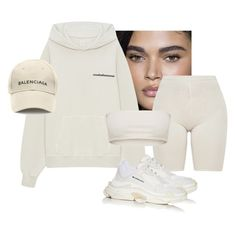 """""""Untitled #1798"""" by elinaxblack on Polyvore featuring Yeezy by Kanye West and Balenciaga"""