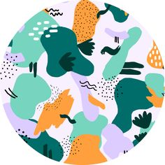 Abstract pattern illustration - Muchable