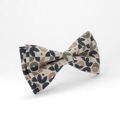 Black Brown Beige Bow Tie for wedding Disco Bow Tie by Luwrine