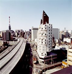 Nakagin Capsule Tower by Kisho Kurokawa,