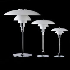 Louis Poulsen PH 2/1, PH 3/2 or PH 4½-3½ Table Lamp Glass