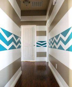zigzag stripes-like!
