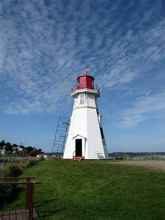 Mulholland Point Lighthouse, Campobello Island, New Brunswick, Canada by bobindrums, via Flickr