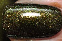 Favorite Halloween nail polish :)  China Glaze Zombie Zest