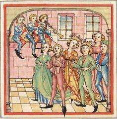 Pontus und Sidonia — Stuttgart (?) - Werkstatt Ludwig Henfflin,  um 1475  Cod. Pal. germ. 142  Folio 101r