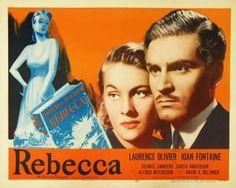 Rebecca (1940) Lawrence Olivier, Joan Fontaine, George Sanders