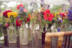 camp wedding centerpieces - Google Search