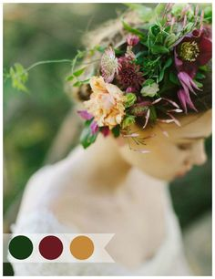 AUTUMN COLOR PALETTES | Wedding Therapy