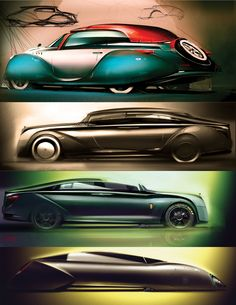 Aero Limo Concept Development Sketches http://www.carbodydesign.com/2013/05/aero-limo-concept/