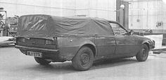 1976 Rover SD1 | disguised prototype undertaking ride and handling tests.